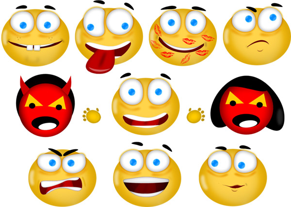 You can use this icons & smileys set freely for commercial and ...: www.codicode.com/art/free_set_of_icons_smileys.aspx